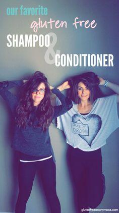 Gluten Free Shampoo & Conditioner | Gluten Free Anonymous