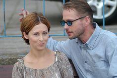Artur Żmijewski con Jolanta Fraszyńska