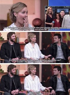 Jennifer Lawrence about The Hunger Games The Hunger Games, Hunger Games Memes, Hunger Games Fandom, Hunger Games Trilogy, Jennifer Lawrence Funny, Jennifer Lawrence Hunger Games, Jennifer Lawrence Interview, Catching Fire, Jennifer Laurence
