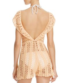 MINKPINK Color Me Crochet Lacey Dress Swim Cover-Up | Bloomingdales's