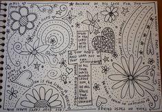 doodle ideas for shoes