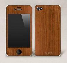 Walnut iPhone Skin by Karvt $25