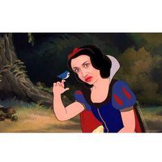 Miranda is Snow White! LOL!