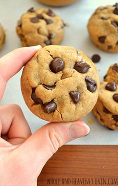 Peanut Butter Chocolate Chip Cookie Cups