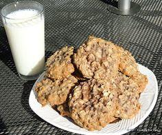 Healthy Breakfast Cookies! Chocolate Chip Oatmeal