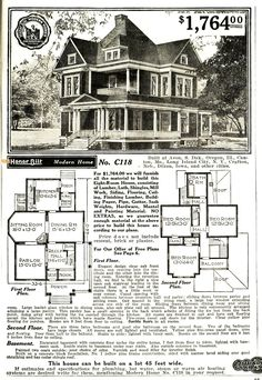 Sears Honor Bilt Home No. C118 home+1.jpg (1101×1600)
