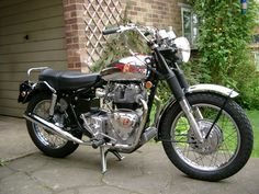 Had one of these too!  Royal Enfield 750 Interceptor...way ahead of their time.  Wet sump, beautiful factory oil cooler, auto neutral finder.  Super quick