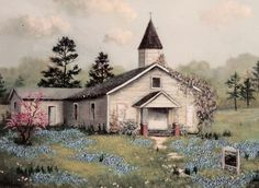 old country church pictures with verse   My Little Family: Church