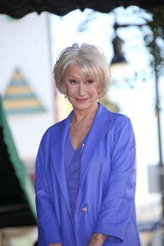 Helen Mirren Short Hairstyle