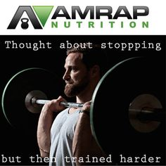 Train Hard! #crossfit #motivation #amrapusa