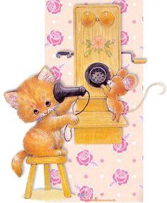 TELEFONO CARPINTERO canción infantil Música para niños para escuchar