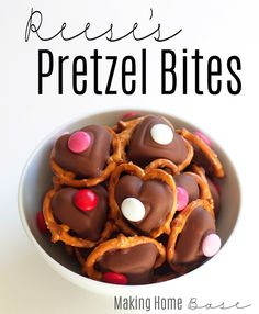 Reese's Pretzel Bites [A Valentine's Day Treat]