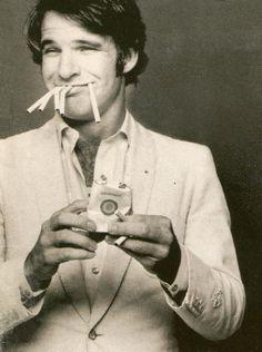 Vintage Steve Martin ;)...  Wild and Crazy guy!