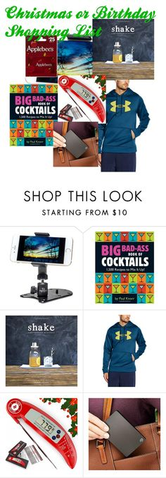 """""""Christmas or Birthday shopping list"""" by ourdesignpages on Polyvore featuring Under Armour and Seagate"""