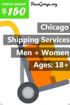 Small Business Owners of Oak Brook Illinois! We need your help! Focus Pointe Chicago is conducting a Paid Focus Group on Shipping Services. Earn $150 for 2 Hours the week of January 30th! Click here to see if you're eligible: