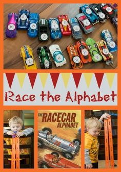 Life with Moore Babies: Poppin's Book Nook - Racecar Alphabet