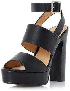 **Head Over Heels Mosanne Chunky Platform Sandals