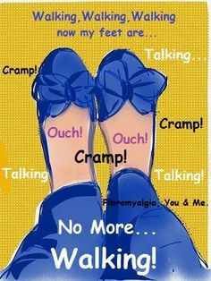 Cramps happen ALL over the body. Feet, toes, legs, hips, back, shoulders, neck, rib cage, even hands and fingers. Ouch...
