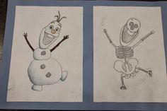 Cartoon Skeletons