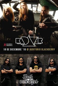 Kadavar Auditorio Blackberry - Domingo 18 de... |