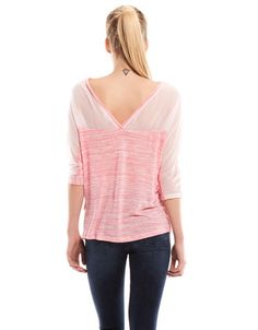 Bershka Portugal -T-shirt Bershka bico costas