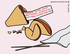 License a Cartoon for Use | Custom Gymnastic Cartoons | Cartoonist Marc Jacobs - Gymnastics Cartoons
