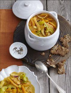 Curry von der Steckrübe mit Kokosmilch (Heft: Oktober 2013) Foto © Thorsten Suedfels für ARD Buffet Magazin/burdafood.net