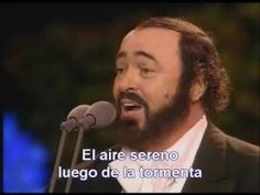 Pavarotti - ´O sole mio [Sub. Español]