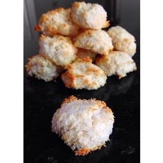 Ripped Recipes - Protein Macaroons - Protein Packed balls of coconut bliss