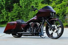 Custom Baggers California | 2013 Harley Davidson Road Glide Custom Bagger – Built For NFL Star ...