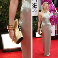 Naomi-Watts-Bulgari-Python-Clutch_facebook.com_oomph_BEST CLUTCHES FROM #GOLDENGLOBEAWARDS2014 http://on.fb.me/1aWmECc #Celebs #handbags #DesignerBags #oomphelicious