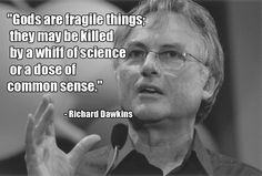 Inspiring quote by Richard Dawkins -- if only Christians sat down and gave their belief system a little logic and reasoning... they would realize the truth - Imgur