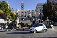 Car2go a Roma: il servizio di car-sharing one way sbarca nella capitale