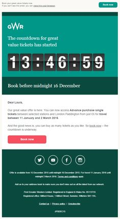 33 Best Email - Countdown Timers images in 2018   Countdown