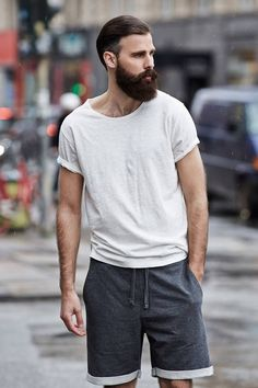 Beard chill outfit shirt tumblr | Check out this amazing outfit on the @stylekick app. Look at more fashion looks & #SKoutfits on http://www.stylekick.com
