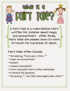 Tales of Faerie: Fairy Tale Lesson Plans