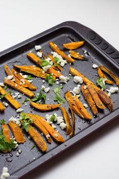 Süßkartoffelpommes aus dem Ofen // marsmaedchen.net