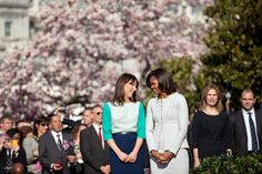 Behind the scenes of the lavish White House welcome for David and Samantha - Photo 12