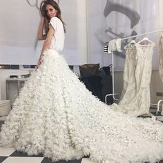 19 Bloggers and the Wedding Dresses They Wore Down the Aisle