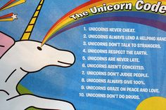 The unicorn code. Great for Ayla. Maybe change the last one. Not quite ready for that lol