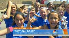 'Rosie the Riveter' Camp Empowers Preteen Girls