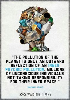 Eckhardt Tolle speaks of the ignorance of many individuals. Eckhart Tolle, Save The Planet, Our Planet, Phrase Choc, Universe Quotes, Quote Posters, Spiritual Quotes, Cool Words, No Response