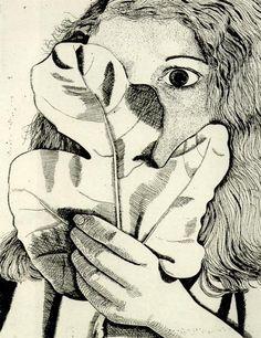 Girl with a Fig Leaf, 1947, Lucian Freud