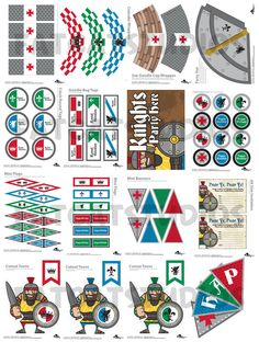 Knights party kit