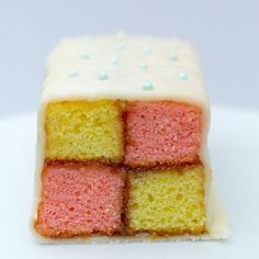 A cake fit for royalty! The Battenberg - not as hard as you think!