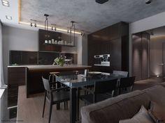 4 sleek modern dining room