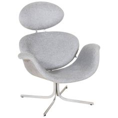 """Rare Pierre Paulin First Edition of """"Big Tulip"""" F551 Chair for Artifort, 1959 1"""