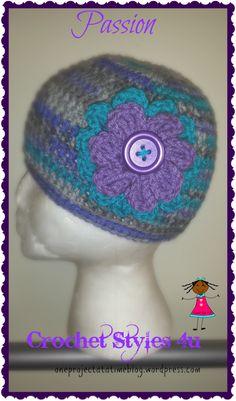 Passion Hat @crochetstyles4u facebook.com/thecrochethooker