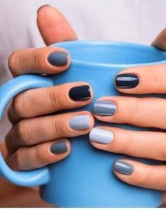Best Winter Nails Ideas To Wear This Year Beautiful and exquisite manicures . - Best Winter Nails Ideas To Wear This Year Beautiful and exquisite manicures franz - Love Nails, How To Do Nails, Pretty Nails, Nagellack Design, Nagellack Trends, Stars Nails, Ten Nails, November Nails, Manicure E Pedicure