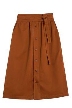No. 6 - Caramel Parson Skirt | BONA DRAG